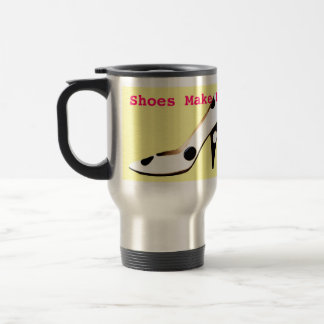 High Fashion Shoes Thermal Travel Mug