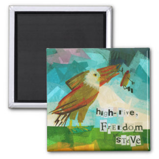 High Five Freedom Steve Magnet