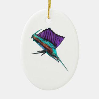 High Flyer Ceramic Ornament