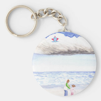 High Flyers Basic Round Button Key Ring