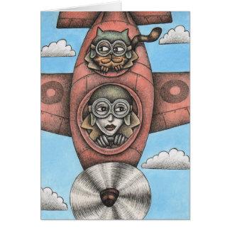 'High Flyers' Card