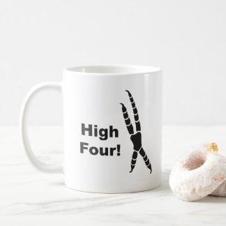 High Four Parrot Footprint (High Five) Coffee Mug