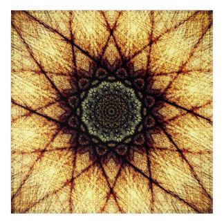 High-Frequency Mandala Acrylic Wall Art