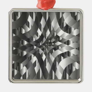 High grade stainless steel backdrop Silver-Colored square decoration
