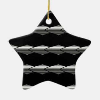 High grade stainless steel bars ceramic star decoration