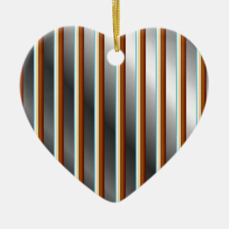 High grade stainless steel bars ceramic heart decoration
