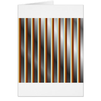 High grade stainless steel bars greeting card