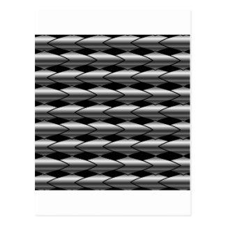 High grade stainless steel bars postcard
