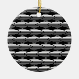 High grade stainless steel bars round ceramic decoration