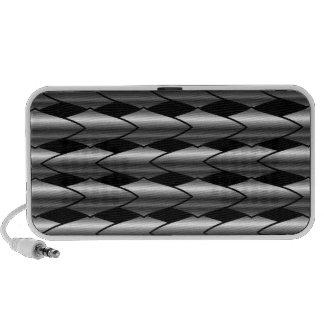 High grade stainless steel bars mini speakers