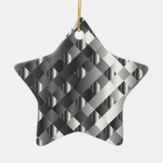 High grade stainless steel ceramic star decoration