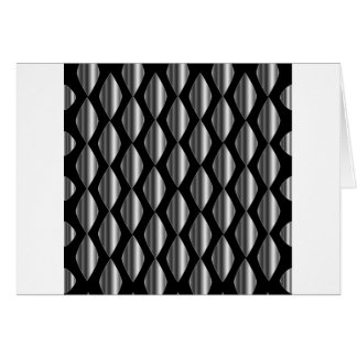 High grade stainless steel greeting card