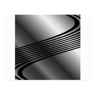 High grade stainless steel postcard