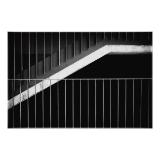 High-grade steel photo print