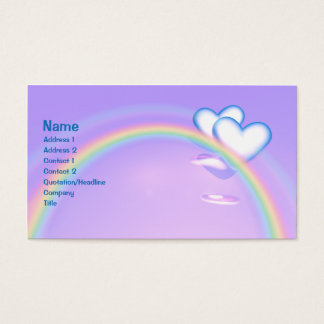 High Hearts - Business Business Card