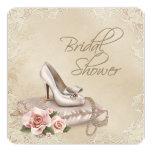 High Heel Shoe Bridal Shower Personalised Invites