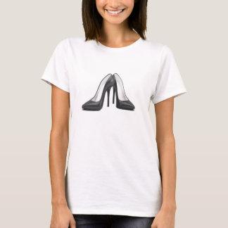 High Heel Shoes Tee in Black