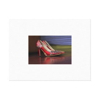 High-heeled shoe High heels Canvas Print