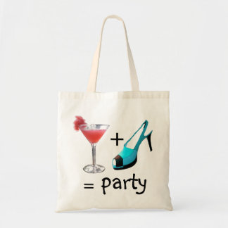 High Heels and Cocktails Tote Bag