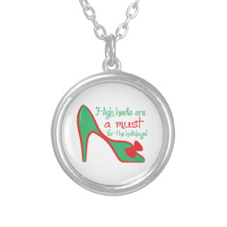 High heels are a must for the holidays pendants