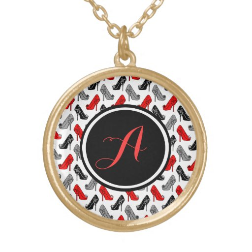 High Heels Personalized Necklace