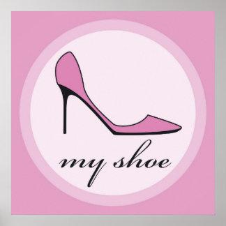 high heels print