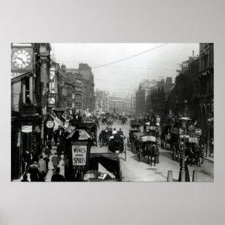 High Holborn, London, c.1890 Poster