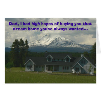 High Hopes Card