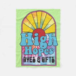 High Hopes Throw Blanket