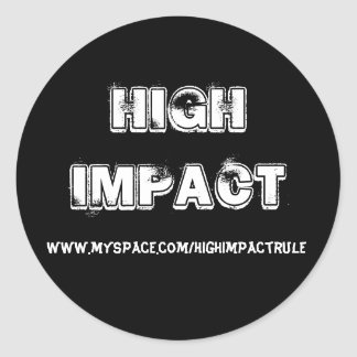 High Impact Sticker 2