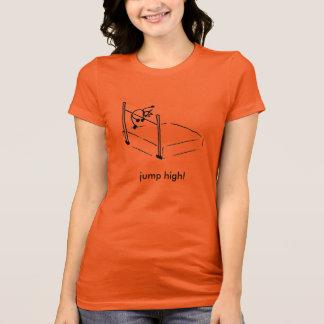 """High Jump Stick Man t-shirt """"jump high!"""""""