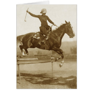 High Jumper Card