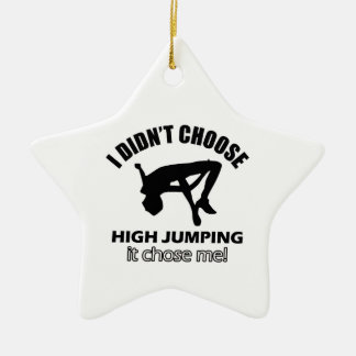 HIGH JUMPING DESIGNS CERAMIC ORNAMENT