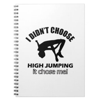 HIGH JUMPING DESIGNS NOTEBOOK