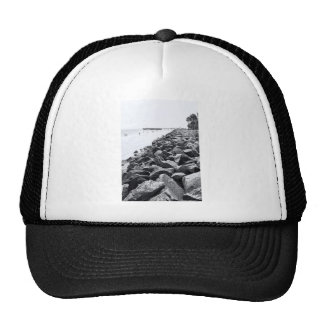 High Key Atlantic Ocean Sea Wall Landscape Cap