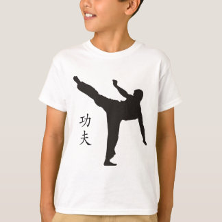 High Kick/Kung Fu Kanji T-Shirt