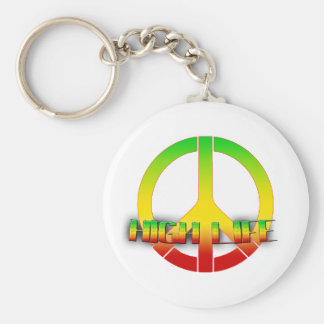 High Life Key-Chain (Rastafarian Love) Key Ring