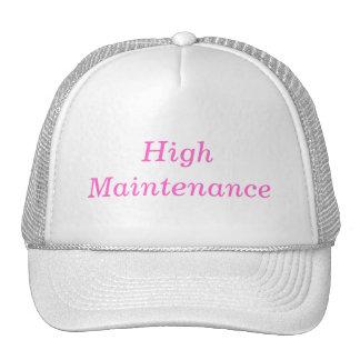 high maintenance cap