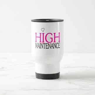 High Maintenance Stainless Steel Travel Mug