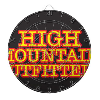 High Mountain Outfitters Dartboard