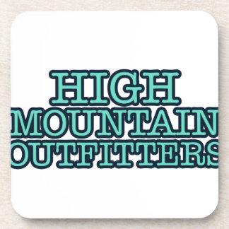 High Mountain Outfitters Drink Coasters