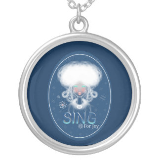 High Notes Sing For Joy Silver Plated Necklace