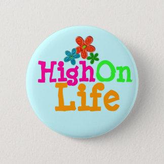 High On Life 6 Cm Round Badge