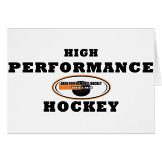 High Performance Hockey Card