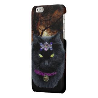 High Priestess Black Cat Iphone Case Glossy iPhone 6 Case