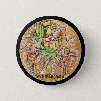 High priestess colour - Amazing Mexico Button