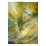 High Priestess of Wind Greeting Card