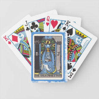 High Priestess Tarot Card Fortune Teller Bicycle Playing Cards