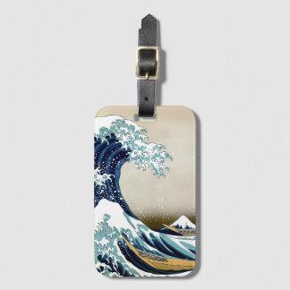 High Quality Great Wave off Kanagawa by Hokusai Luggage Tag
