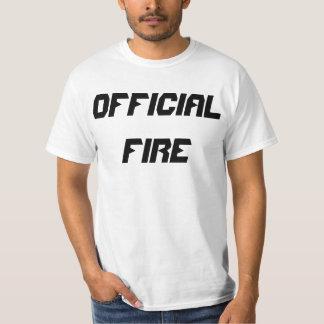 High Quality Official Fire Men's t-shirt